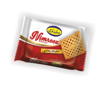 "Oil Biscuit With Vanilla Flavor – 36 Gr Pack – Brand ""Nimrooz"""