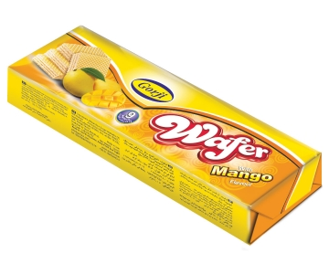 Wafer with Mango Flavor