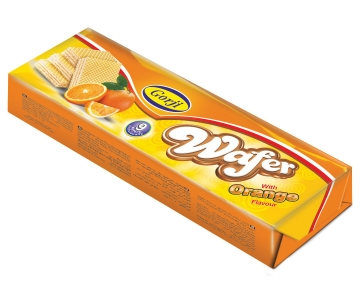 Wafer with Orange Flavor