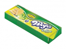 Wafer with Lemon Flavor