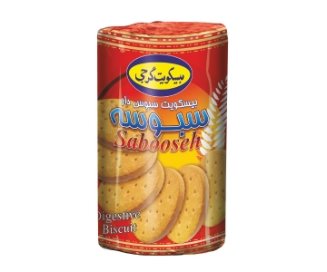 "Digestive Biscuit ""Sabooseh"" – 145 Gr Cylindrical Pack"