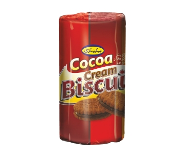 Biscuit With Cocoa Flavor Cream – 135 Gr Cylindrical Pack