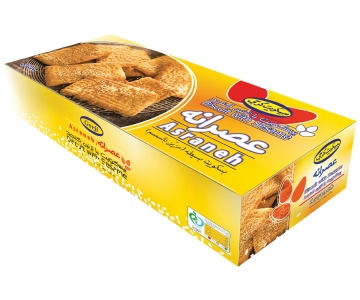 """Biscuit With Sesame – 720 Gr Pack – Brand """"Asraneh"""""""