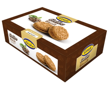 Biscuit With Coffee Cream – 370 Gr Pack