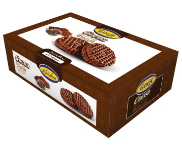 Cocoa Biscuit With Cocoa Cream – 390 Gr Pack