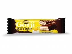 Banana Wafer With Chocolate Coating – 20 Gr Pack